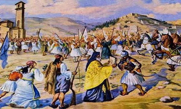 Σαν σήμερα 23/3: Οι Έλληνες επαναστάτες καταλαμβάνουν την Καλαμάτα