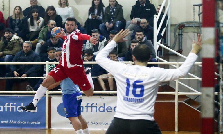 Handball Premier: «Σφράγισε» την πρωτιά ο Ολυμπιακός