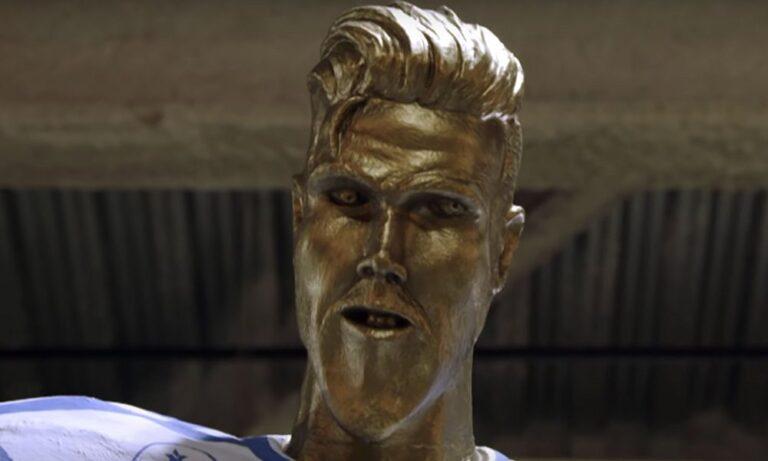 Ντέιβιντ Μπέκαμ: Σκιάχτηκε με το άγαλμα που του έκαναν