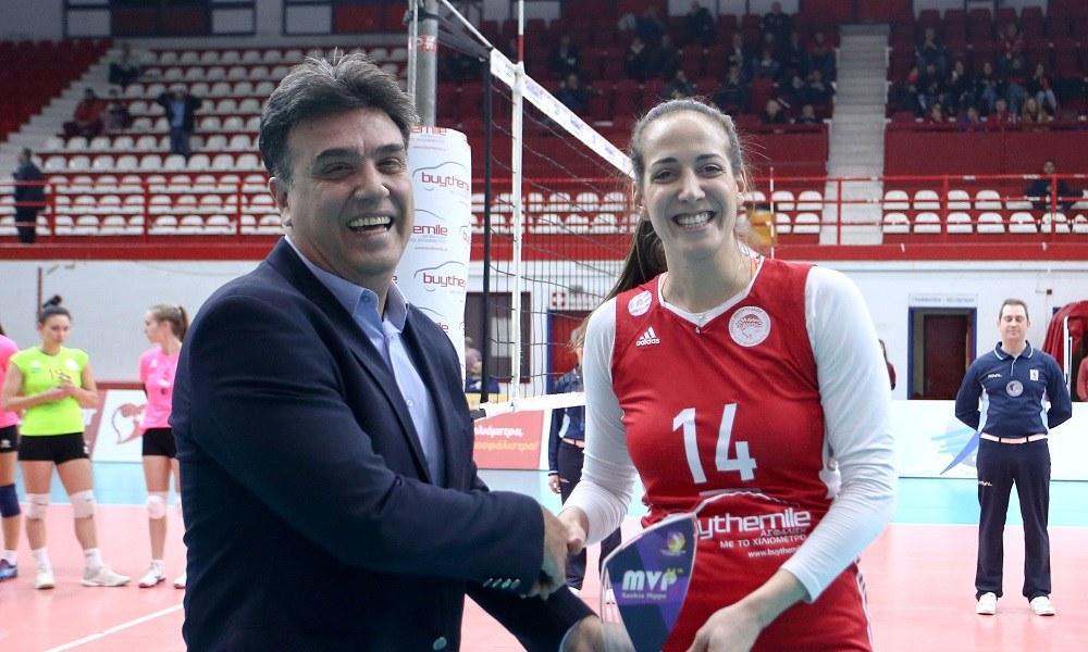 Α1 βόλεϊ γυναικών: MVP η Χριστοδούλου