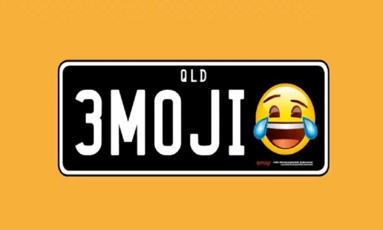 Oι πρώτες πινακίδες αυτοκινήτων με Emojis! (pic/vid)