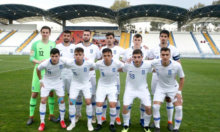 Εθνική Ελπίδων: Φιλική ισοπαλία (1-1) με Μαυροβούνιο