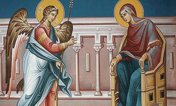 25 Μαρτίου: Ο Ευαγγελισμός της Υπεραγίας Θεοτόκου