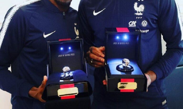 Εθνική Γαλλίας: Δαχτυλίδια… NBA για τους παγκόσμιους πρωταθλητές (vid)
