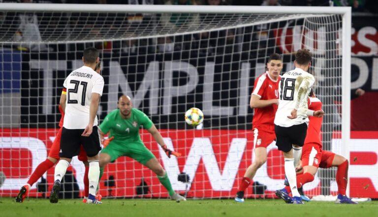 Γερμανία – Σερβία 1-1: Ζέσταμα για τα προκριματικά (vid)