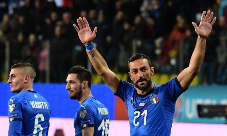Εθνική Ιταλίας: Έγραψε ιστορία ο Κουαλιαρέλα