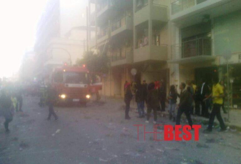 Καρναβάλι Πάτρας: Φωτιά διέκοψε την παρέλαση! (pic)