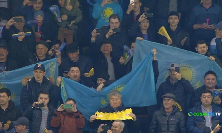 Η Ρωσία διέλυσε το Καζακστάν (vid)