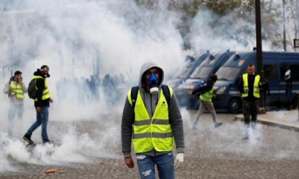 Κίτρινα γιλέκα: Διαδηλωτής δέχθηκε σφαίρα από καουτσούκ