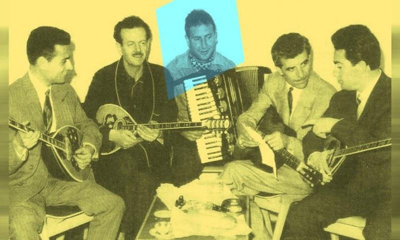 Όταν ο Κοινούσης έπαιζε ακορντεόν με τον Τσιτσάνη - Sportime.GR