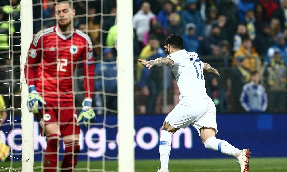 Βοσνία-Ελλάδα 2-2: Παλικαρίσιος βαθμός