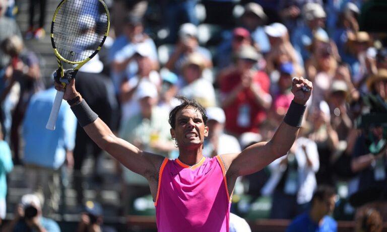 Τένις: Το FEDAL… πλησιάζει στο Indian Wells