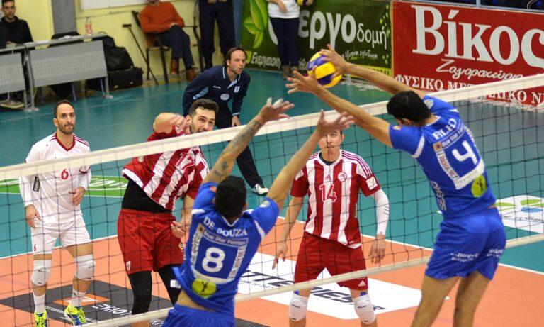 Volley League: Ανάταση ζητά ο Ολυμπιακός με Φοίνικα