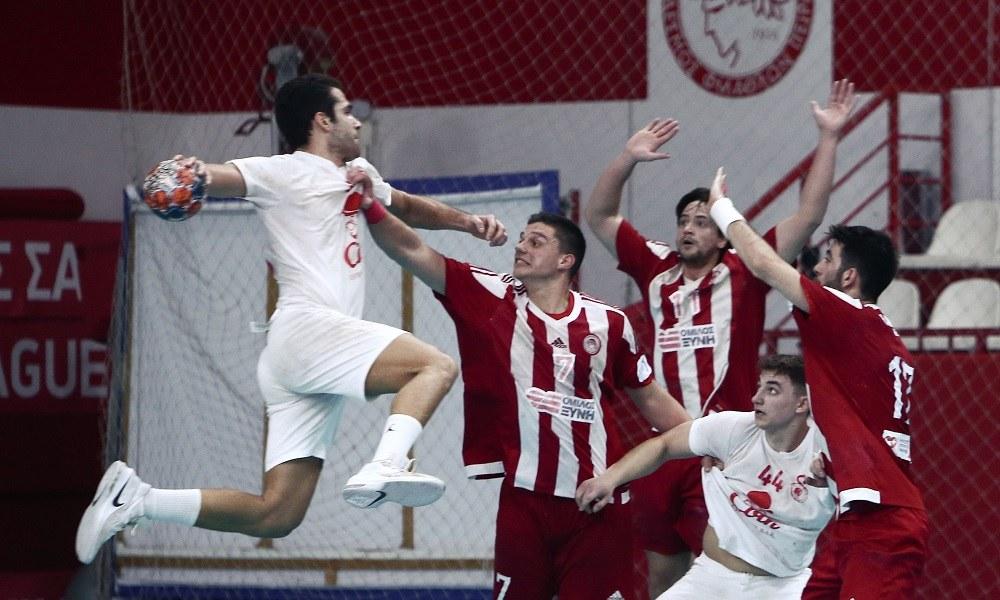 Handball Premier: «Κλειδώνει» την πρωτιά ο Ολυμπιακός