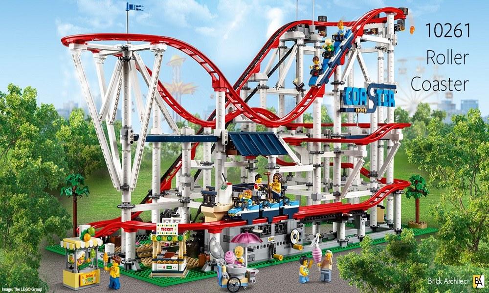 Ένα roller coaster φτιαγμένο από Lego (vid)
