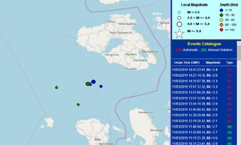 Μυτιλήνη: Σεισμός 4,3 Ρίχτερ στο νησί