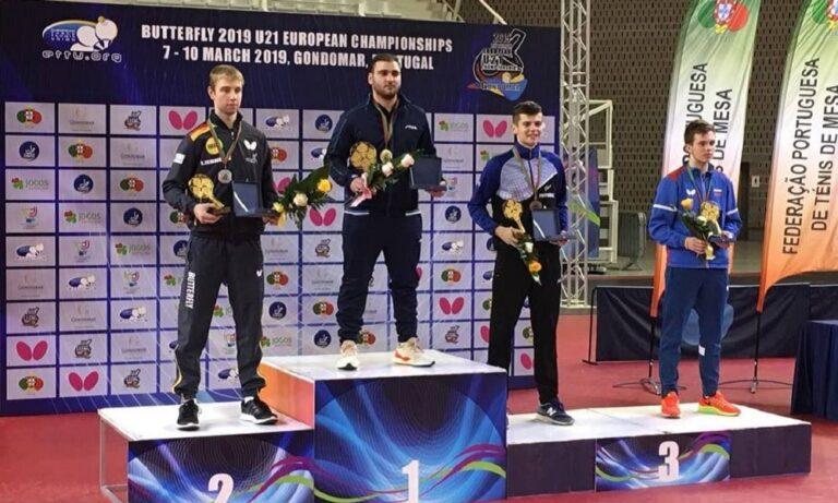 Σγουρόπουλος: Πρωταθλητής Ευρώπης ξανά!