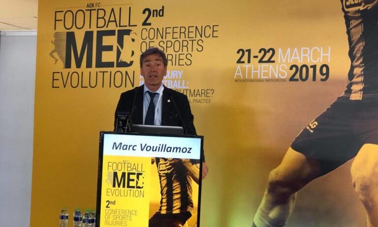 ΑΕΚ: Εκπρόσωπος της UEFA στο Ιατρικό Συνέδριο (pics)
