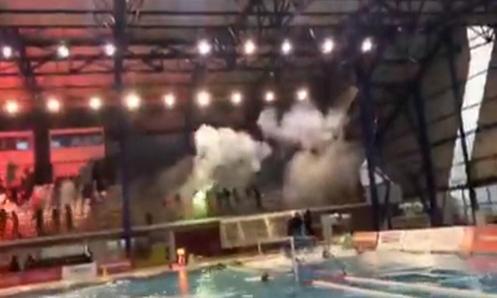 Ολυμπιακός-Γλυφάδα: Video σοκ από το Παπαστράτειο