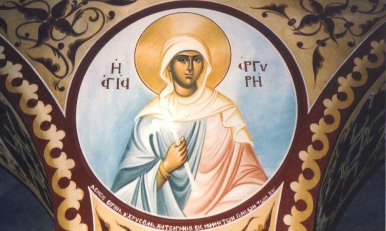 5 Απριλίου: Γιορτάζει η Αγία Αργυρή η Νεομάρτυς