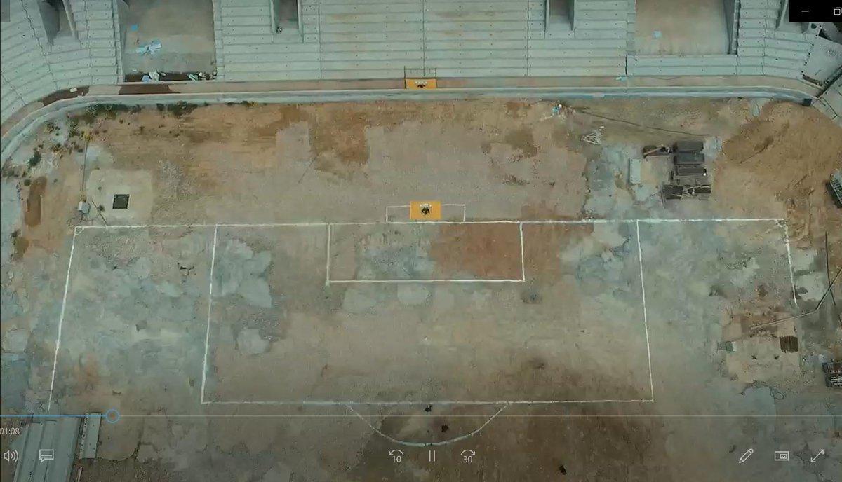 «Αγιά Σοφιά»: Σχηματίστηκε ο αγωνιστικός χώρος (pic) - Sportime.GR