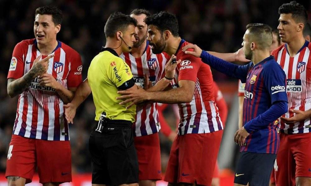 Ατλέτικο Μαδρίτης: Τιμωρία 8 αγωνιστικών στον Ντιέγκο Κόστα