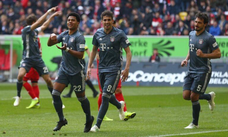 Bundesliga: Ακάθεκτη για τον τίτλο η Μπάγερν (vid)