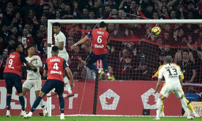 Ligue 1: Η Λιλ ταπείνωσε την Παρί Σεν Ζερμέν