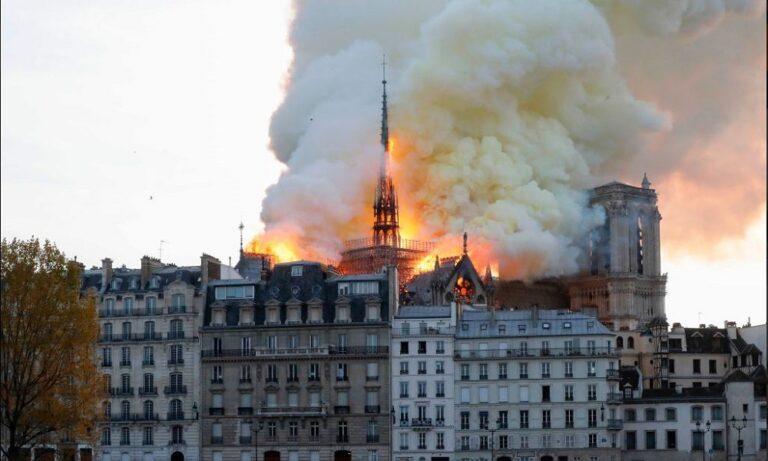 Παναγία των Παρισίων: Μεγάλη φωτιά στον ιστορικό ναό!