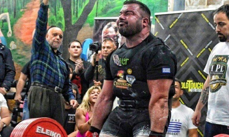 Powerlifting: Τρεις Έλληνες στη Μόσχα
