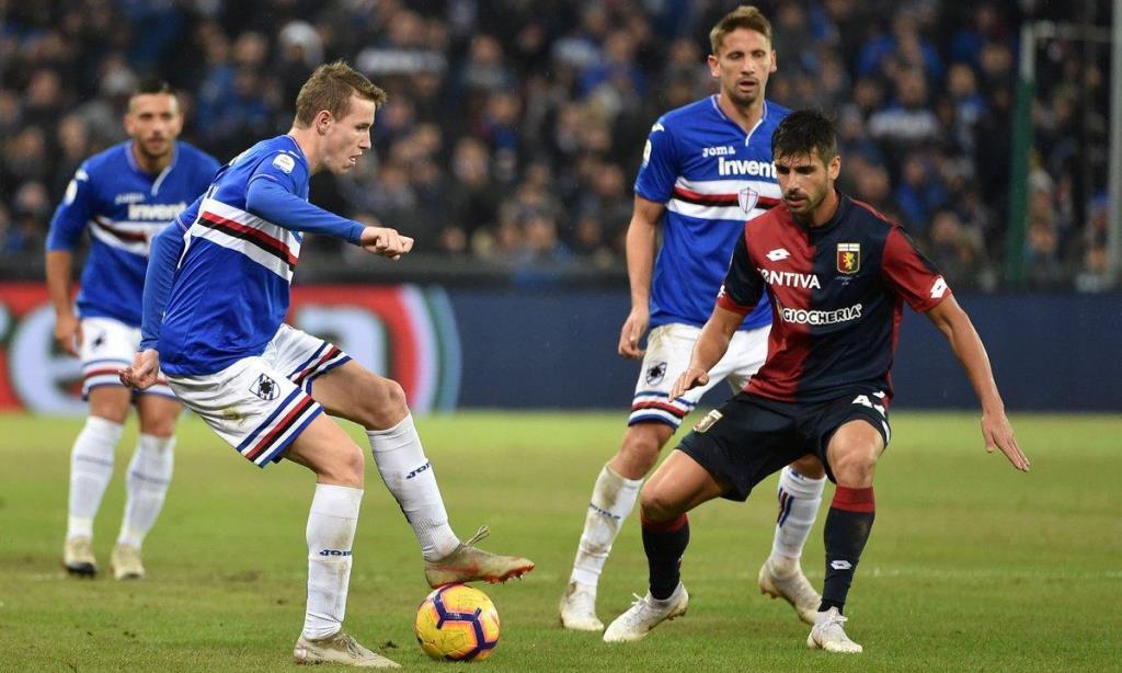 Serie A: Η Σαμπντόρια πήρε το ντέρμπι της Γένοβα