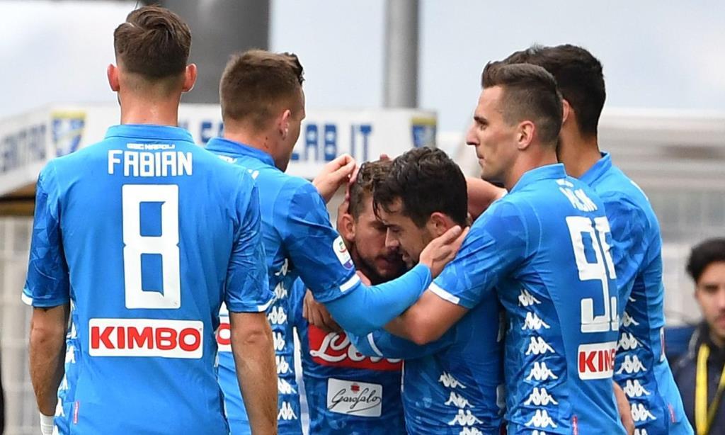 Serie A: Η Νάπολι πέρασε από το Φροζινόνε