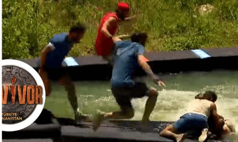 Survivor: Τραυματίστηκε κι έφυγε με φορείο (vid)
