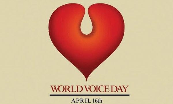 16 Απριλίου: Παγκόσμια Ημέρα Φωνής