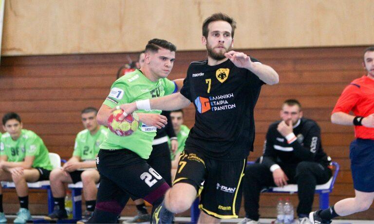 Handball Premier: Νικηφόρα πρεμιέρα η ΑΕΚ στα πλέι οφ