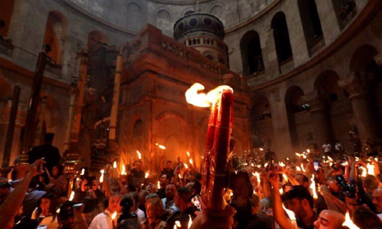 Άγιο Φως: «Μπάχαλο» με την μεταφορά του από τα Ιεροσόλυμα