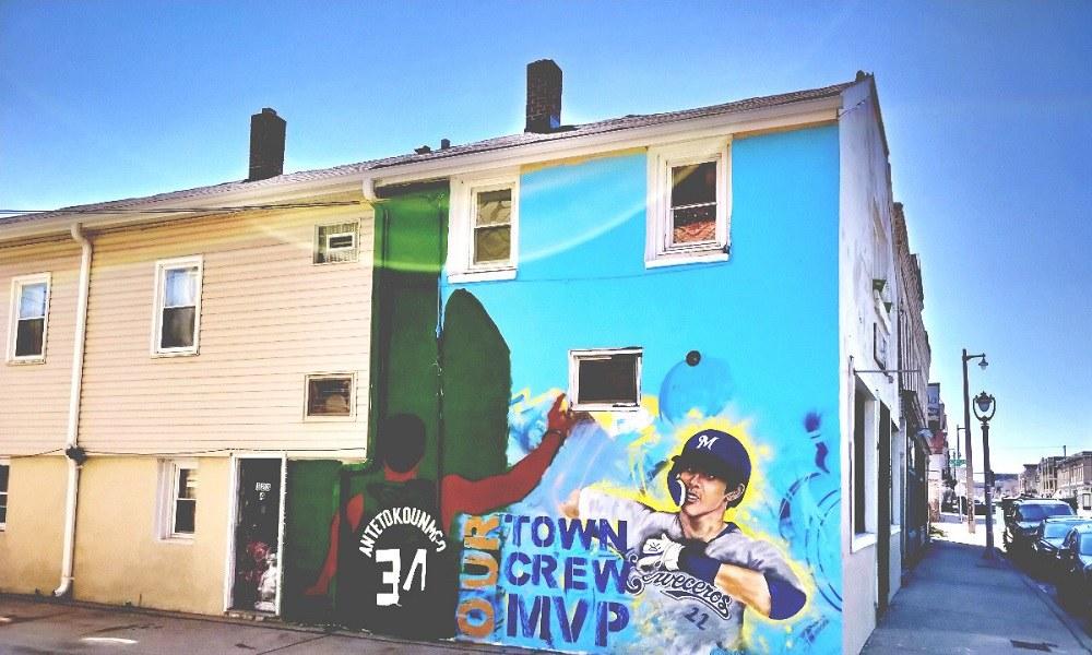 Έρανος για το γκράφιτι του Αντετοκούνμπο στο Μιλγουόκι (vid)