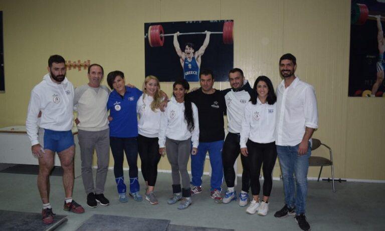 Άρση βαρών: Με έξι αθλητές στο Ευρωπαϊκό