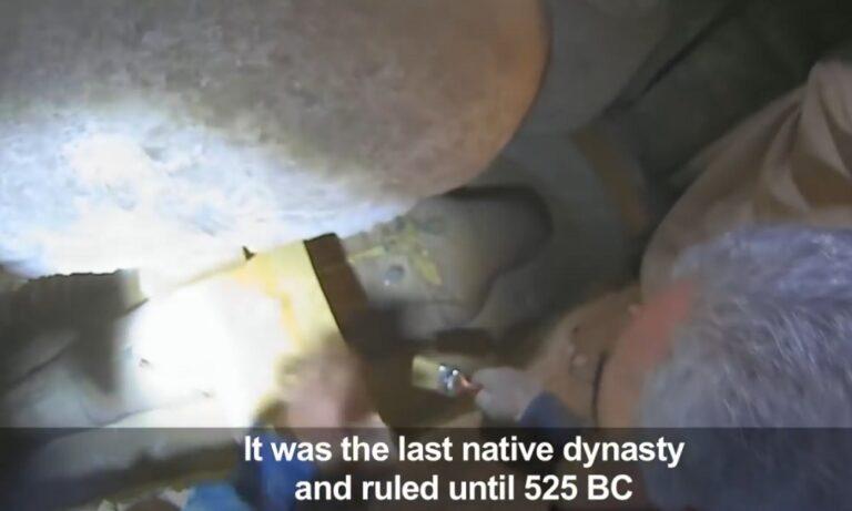 Αίγυπτος: Βρέθηκε σαρκοφάγος σε νεκρόπολη (pic & vid)