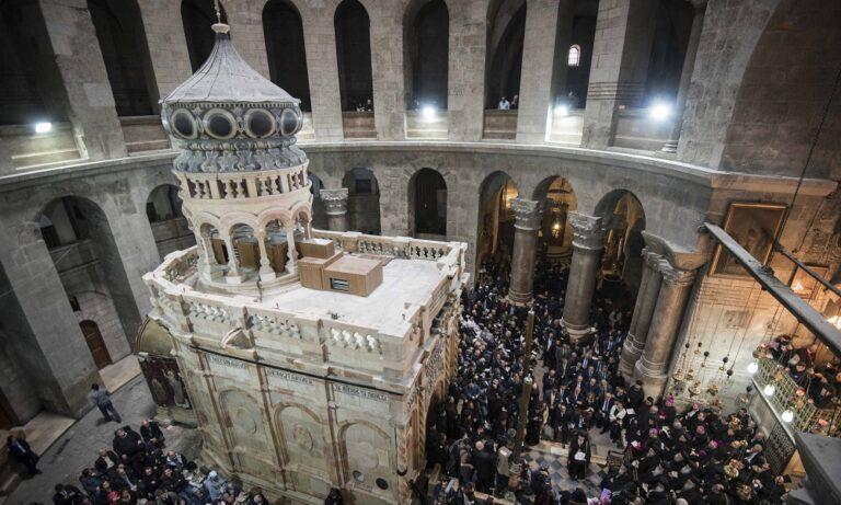 Αφή Αγίου Φωτός: Δείτε LIVE την τελετή από τα Ιεροσόλυμα