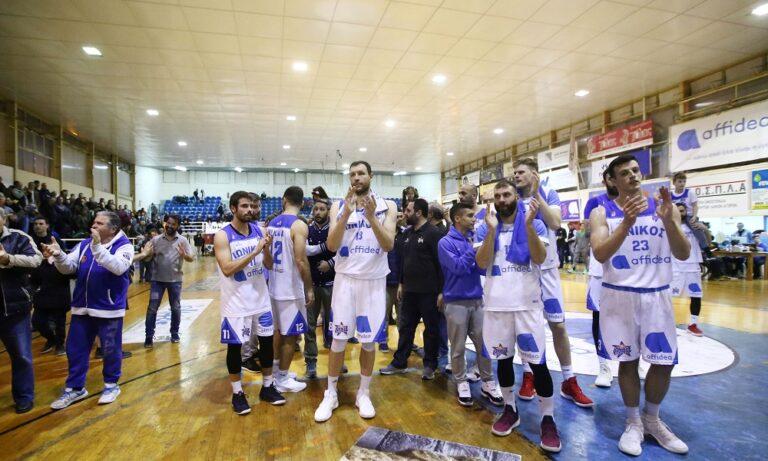 Α2: Στην Basket League ο Ιωνικός μετά από 32 χρόνια