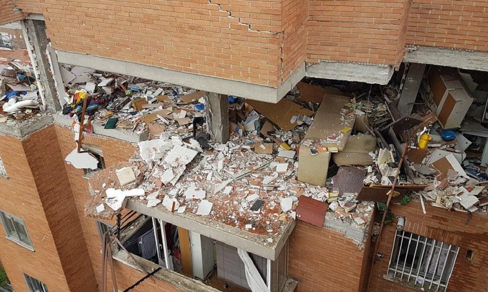 Μαδρίτη: Έκρηξη με τραυματίες σε κτίριο (pic)