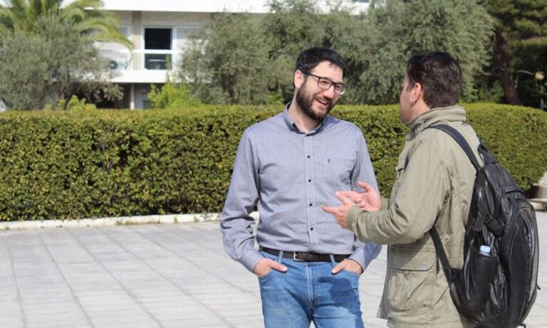 Νάσος Ηλιόπουλος στο Sportime: «Αξίζει να αγωνιστείς για την Αθήνα»
