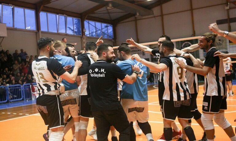 ΟΦΗ: Ιστορική άνοδος στη Volley League (vids)