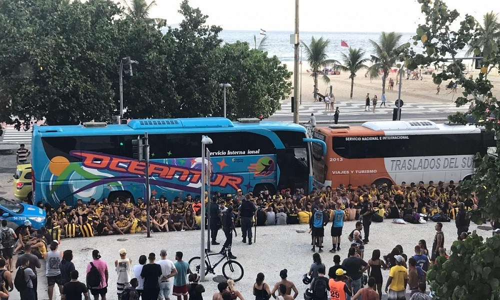 Φλαμένγκο – Πενιαρόλ: Επεισόδια στην Copacabana (vids)