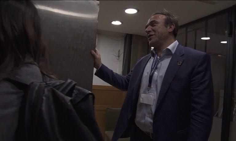 Ευρωεκλογές: Μια μέρα με τον υποψήφιο ευρωβουλευτή Πέτρο Κόκκαλη