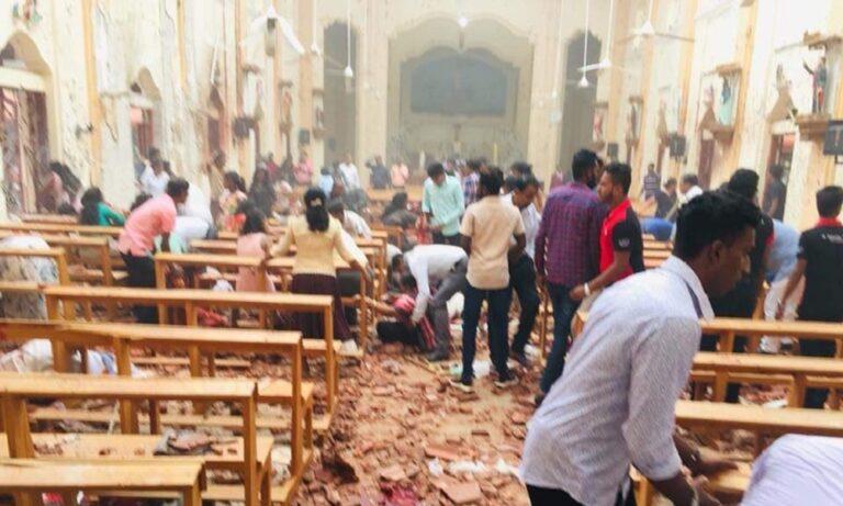 Σρι Λάνκα: Βομβιστική επίθεση σε εκκλησίες – Εκατόμβη νεκρών – Σοκαριστικό βίντεο (vid)