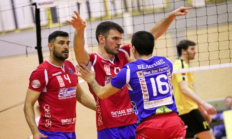 Volley League:  Στα ημιτελικά ο Φοίνικας Σύρου