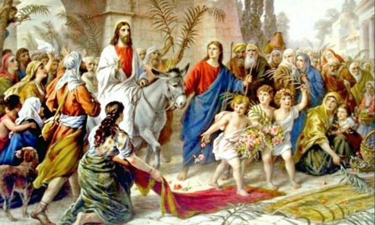 21 Απριλίου: Κυριακή των Βαΐων
