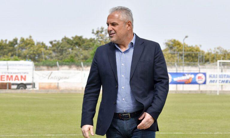 Βοσνιάδης: «Έχουμε την εμπειρία να οργανώσουμε καλύτερα την ομάδα»
